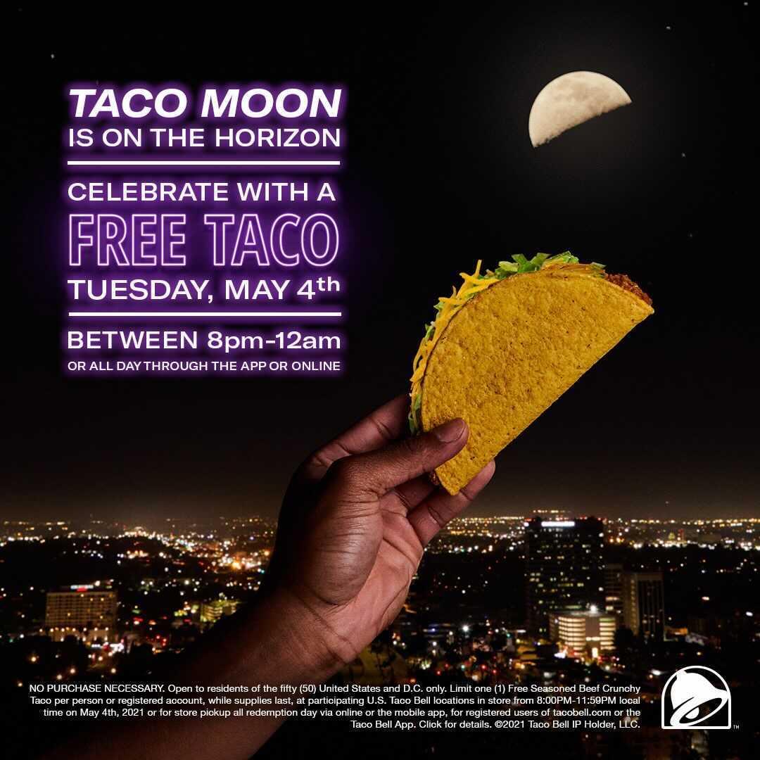 taco bell free taco app