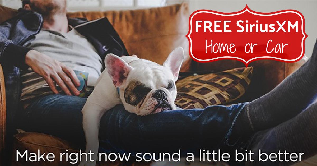 FREE siriusxm radio sirius xm for free
