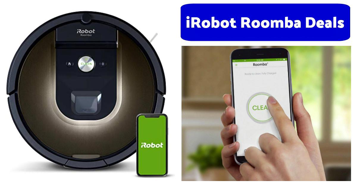 iRobot Roomba 981 deal on Amazon sale