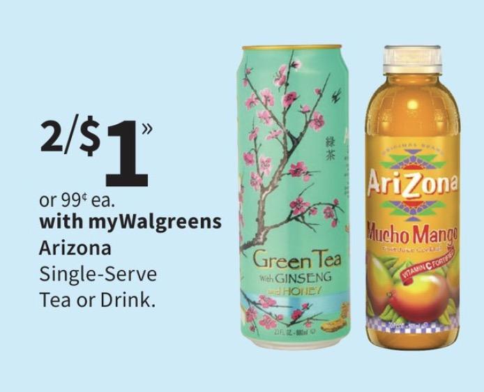 Arizona tea coupons