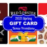 Gift Card Bonus Deals 2021