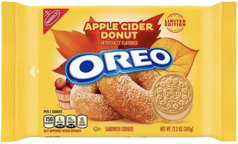 Oreo Cookies 2021 Apple Cider Donut