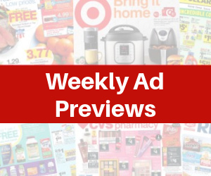 Weekly Ad Early Previews