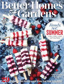 Free subscription better homes & gardens magazine