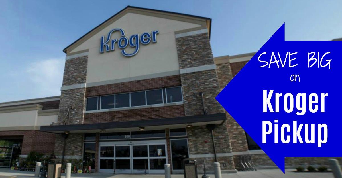Kroger Pickup Deals coupons
